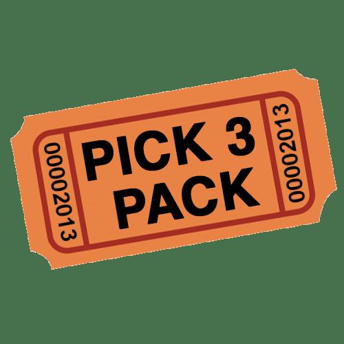 Pick 3 Pack
